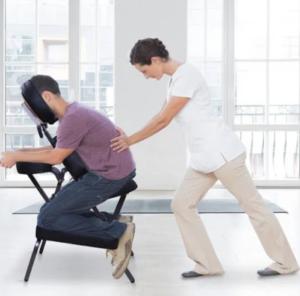 chair massage orangeville